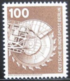 Poštovní známka Západní Berlín 1975 Rypadlo Mi# 502