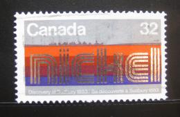 Poštovní známka Kanada 1983 Objevení niklu Mi# 890