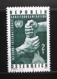 Poštovní známka Rakousko 1969 ILO, 50. výroèí Mi# 1305