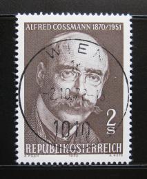 Poštovní známka Rakousko 1970 Alfred Kossmann, rytec Mi# 1342
