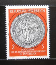 Poštovní známka Rakousko 1970 Univerzitní peèe� Mi# 1326