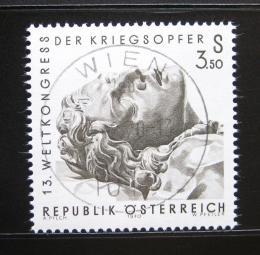 Poštovní známka Rakousko 1970 Váleèní veteráni Mi# 1337