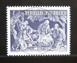 Poštovní známka Rakousko 1970 Vánoce Mi# 1349
