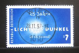 Poštovní známka Rakousko 1997 Svìtlo pro všechny Mi# 2238