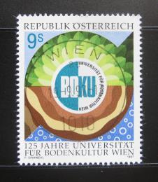 Poštovní známka Rakousko 1997 Zemìdìlská univezita Mi# 2230