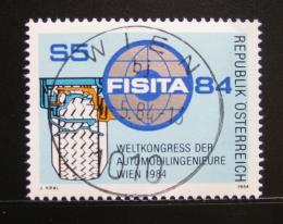 Poštovní známka Rakousko 1984 Automobilový kongres Mi# 1770