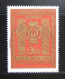 Poštovní známka Rakousko 1984 Císaøská výstava Mi# 1775