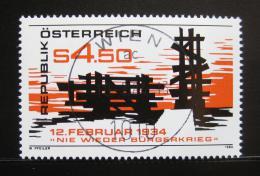 Poštovní známka Rakousko 1984 Povstání z r. 1934 Mi# 1766