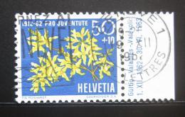 Poštovní známka Švýcarsko 1962 Zlatice Mi# 762