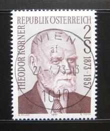 Poštovní známka Rakousko 1973 Prezident Theodor Korner Mi# 1412