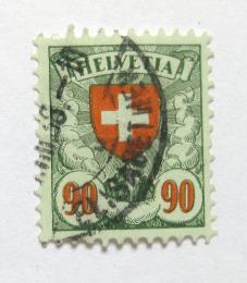 Poštovní známka Švýcarsko 1934 Státní znak Mi# 194 z
