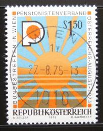 Poštovní známka Rakousko 1975 Asociace penzionù Mi# 1490