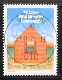 Poštovní známka Rakousko 1975 Stavební spoøení Mi# 1497