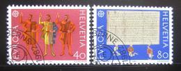 Poštovní známky Švýcarsko 1982 Evropa CEPT Mi# 1221-22