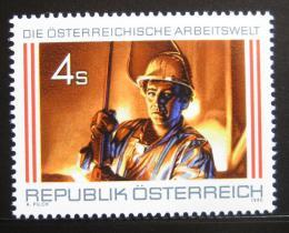 Poštovní známka Rakousko 1986 Oceláø Mi# 1872