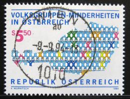 Poštovní známka Rakousko 1994 Etnické menšiny Mi# 2135