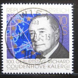 Poštovní známka Rakousko 1994 Richard C. Kalergi Mi# 2141