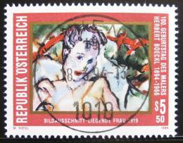 Poštovní známka Rakousko 1994 Umìní, Herbert Boeckl Mi# 2122