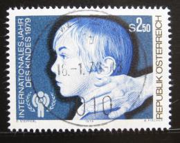 Poštovní známka Rakousko 1979 Mezinárodní rok dìtí Mi# 1597