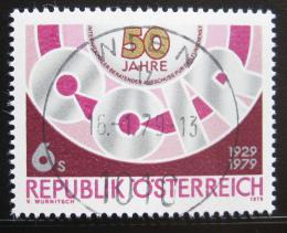 Poštovní známka Rakousko 1979 Výroèí CCIR Mi# 1598