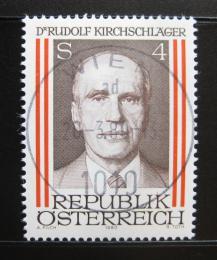 Poštovní známka Rakousko 1980 Prezident Rudolph Kirchschlager Mi# 1635