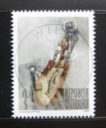 Poštovní známka Rakousko 1980 Umìní, K. Brandstatter Mi# 1655