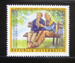 Poštovní známka Rakousko 1999 Mezinárodní rok seniorù Mi# 2293