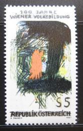 Poštovní známka Rakousko 1987 Vzdìlávání dospìlých Mi# 1873