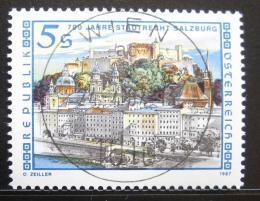 Poštovní známka Rakousko 1987 Salzburg, 700. výroèí Mi# 1879