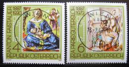 Poštovní známky Rakousko 1987 Umìní Mi# 1874-75