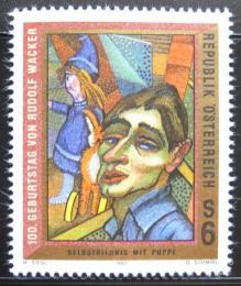 Poštovní známka Rakousko 1993 Umìní, Rudolf Wacker Mi# 2103