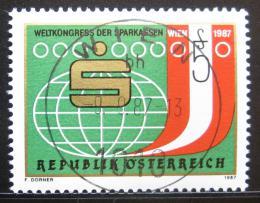 Poštovní známka Rakousko 1987 Kongres spoøitelen Mi# 1898