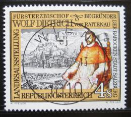 Poštovní známka Rakousko 1987 Arcibiskup von Raitenau, Salzburg Mi# 1884