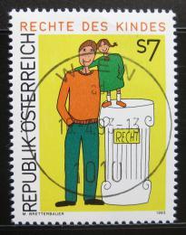 Poštovní známka Rakousko 1993 Dìtská práva Mi# 2093