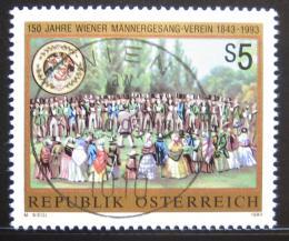 Poštovní známka Rakousko 1993 Vídeòský mužský sbor Mi# 2107