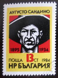 Poštovní známka Bulharsko 1984 Cesar A. Sandino Mi# 3322