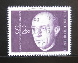 Poštovní známka Rakousko 1974 Arnold Schonberg, skladatel Mi# 1463