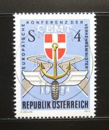 Poštovní známka Rakousko 1974 Dopravní konference Mi# 1457