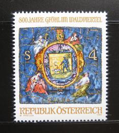 Poštovní známka Rakousko 1982 Glohl, 800. výroèí Mi# 1706
