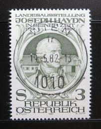 Poštovní známka Rakousko 1982 Joseph Haydn Mi# 1704