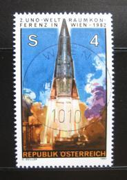 Poštovní známka Rakousko 1982 Start rakety Mi# 1715