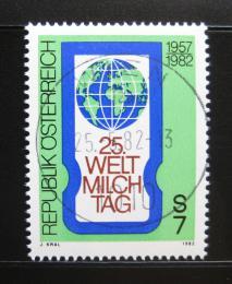 Poštovní známka Rakousko 1982 Svìtový den mléka Mi# 1705