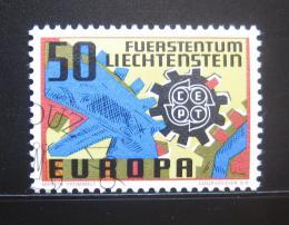 Poštovní známka Lichtenštejnsko 1967 Evropa CEPT Mi# 474