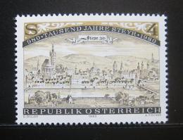 Poštovní známka Rakousko 1980 Steyr milénium Mi# 1645