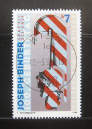 Poštovní známka Rakousko 1998 Grafické umìní Mi# 2245