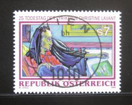 Poštovní známka Rakousko 1998 Christine Lavant, básníøka Mi# 2256