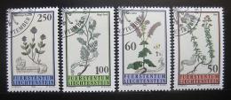 Poštovní známky Lichtenštejnsko 1993 Luèní flóra Mi# 1069-72