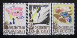 Poštovní známky Lichtenštejnsko 1994 Moderní umìní Mi# 1096-98