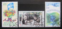 Poštovní známky Lichtenštejnsko 1995 Výroèí a události Mi# 1105-07