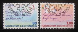 Poštovní známky Lichtenštejnsko 1995 Evropa CEPT Mi# 1103-04